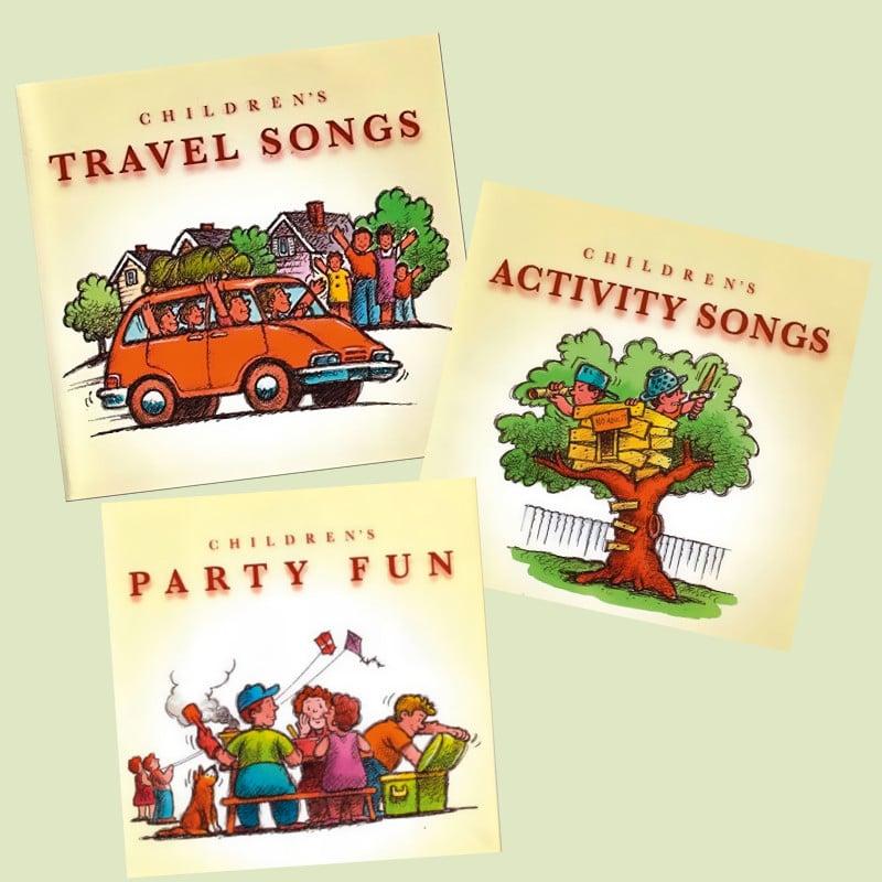 Englische Kinderlieder CD Cover