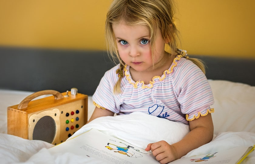 Kinderplayer für Gute-Nacht-Geschichten