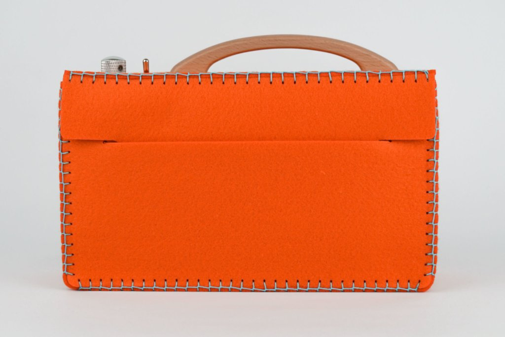 Example of a felt bag for hörbert
