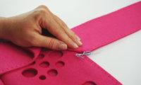 Sewing instructions for a hörbert felt bag