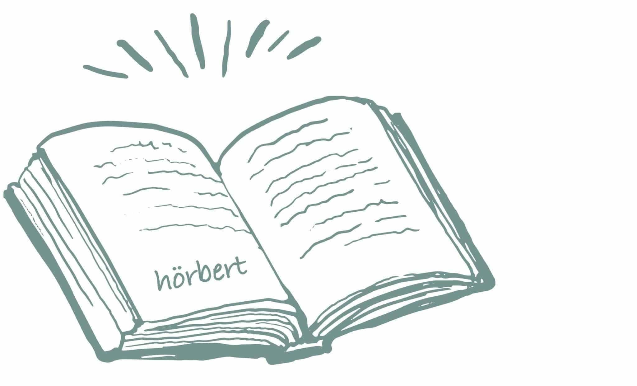 Illustration: Aufgeschlagenes Geschichtenbuch