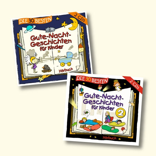 Die 30 Besten, Gute-Nacht-Geschichten für Kinder