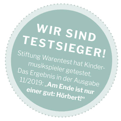 Testsieger-Badge