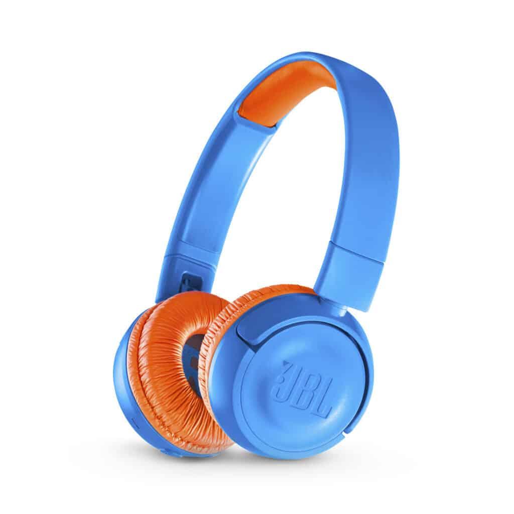 JBL JR300 Bluetooth headphones for children - blueOrange