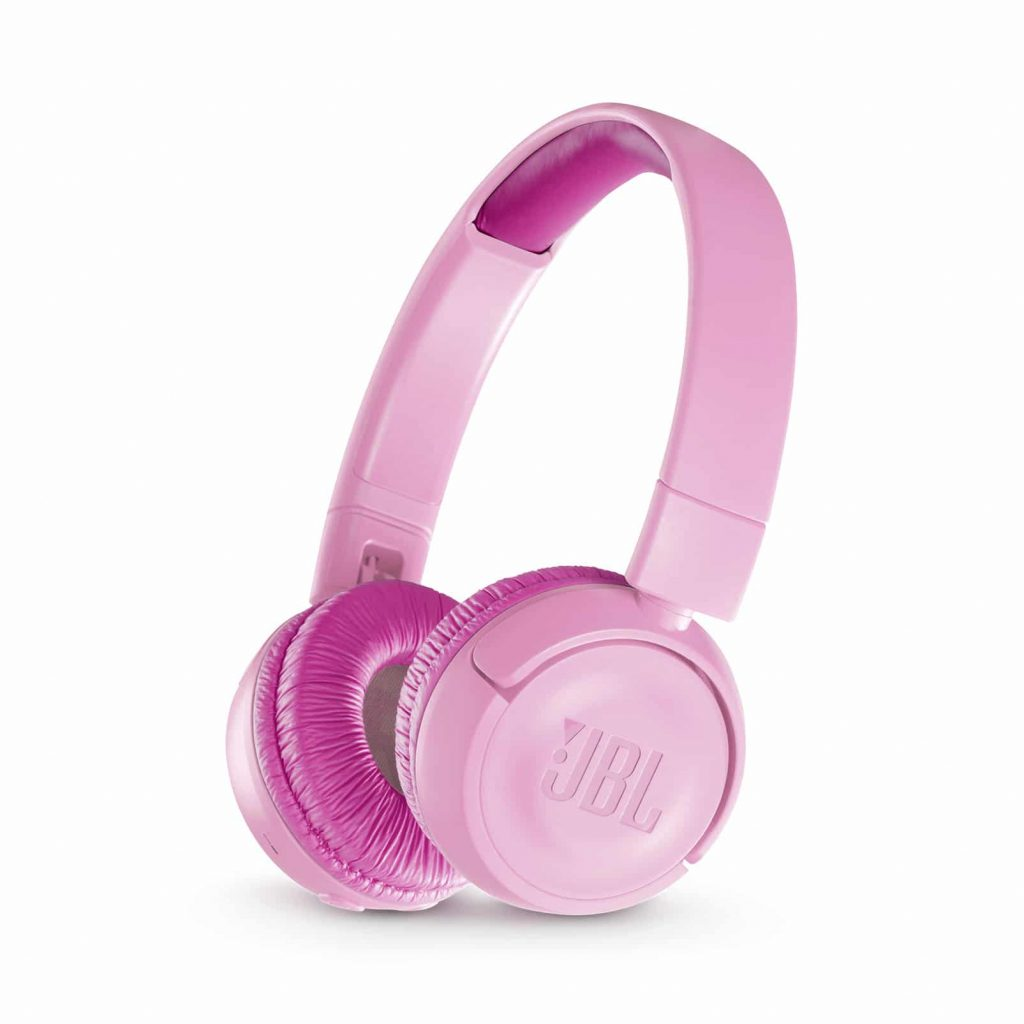 JBL JR300 Bluetooth headphones for children - pink
