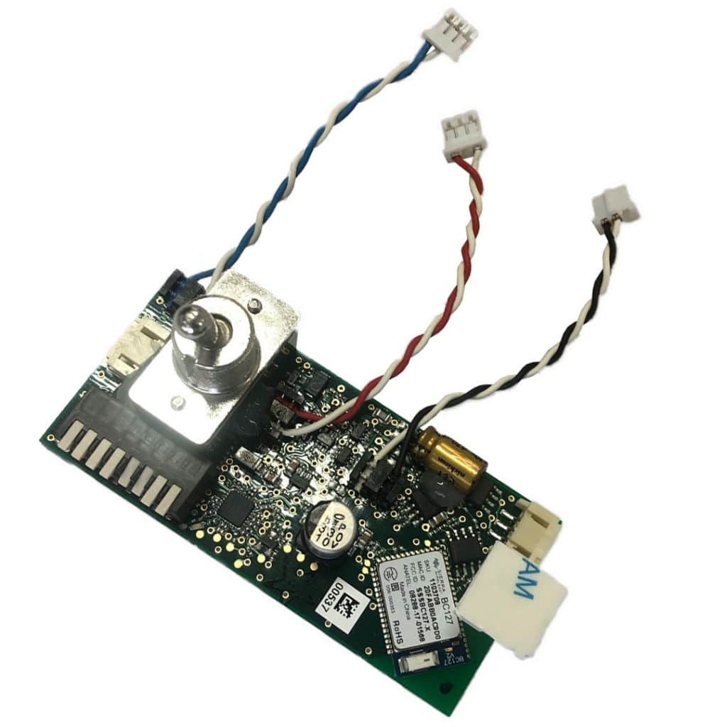 Bluetooth module with switch and cables