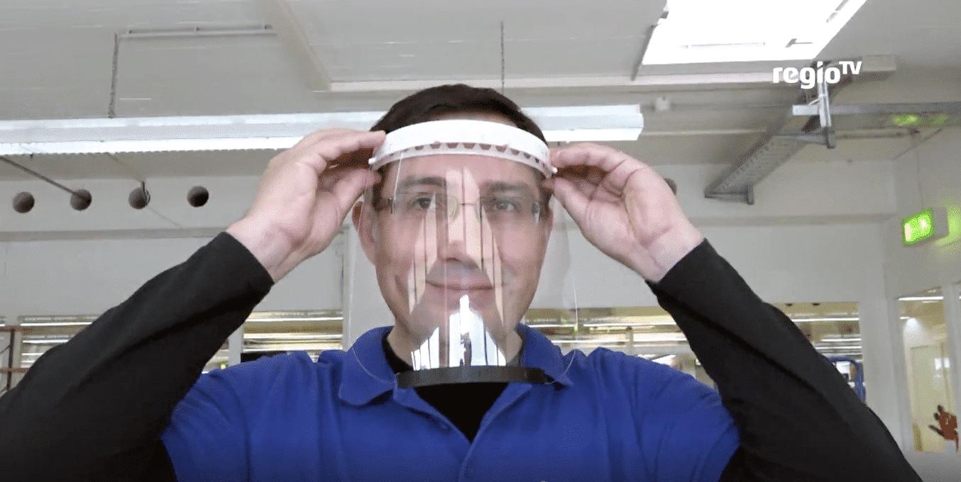 Schutz vor Corona – FaceShields aus 3D-Drucker
