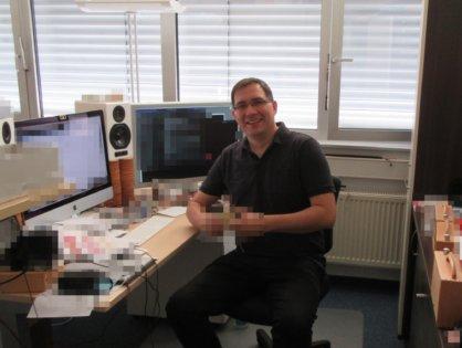 Das hörbert Team stellt sich vor: Rainer – unser Tüftler und Gründer