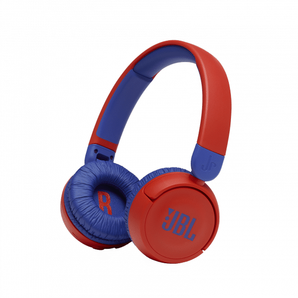 JBL Headphones with Bluetooth for Kids in red