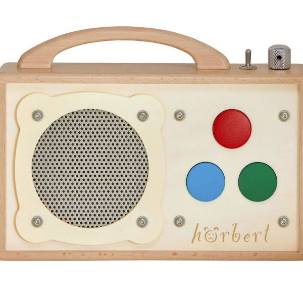 hörbert for people with disabilities. Barrier-free audio player and MP3 player