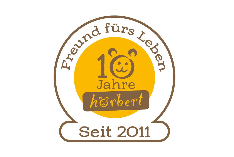 10 Jahre Logo