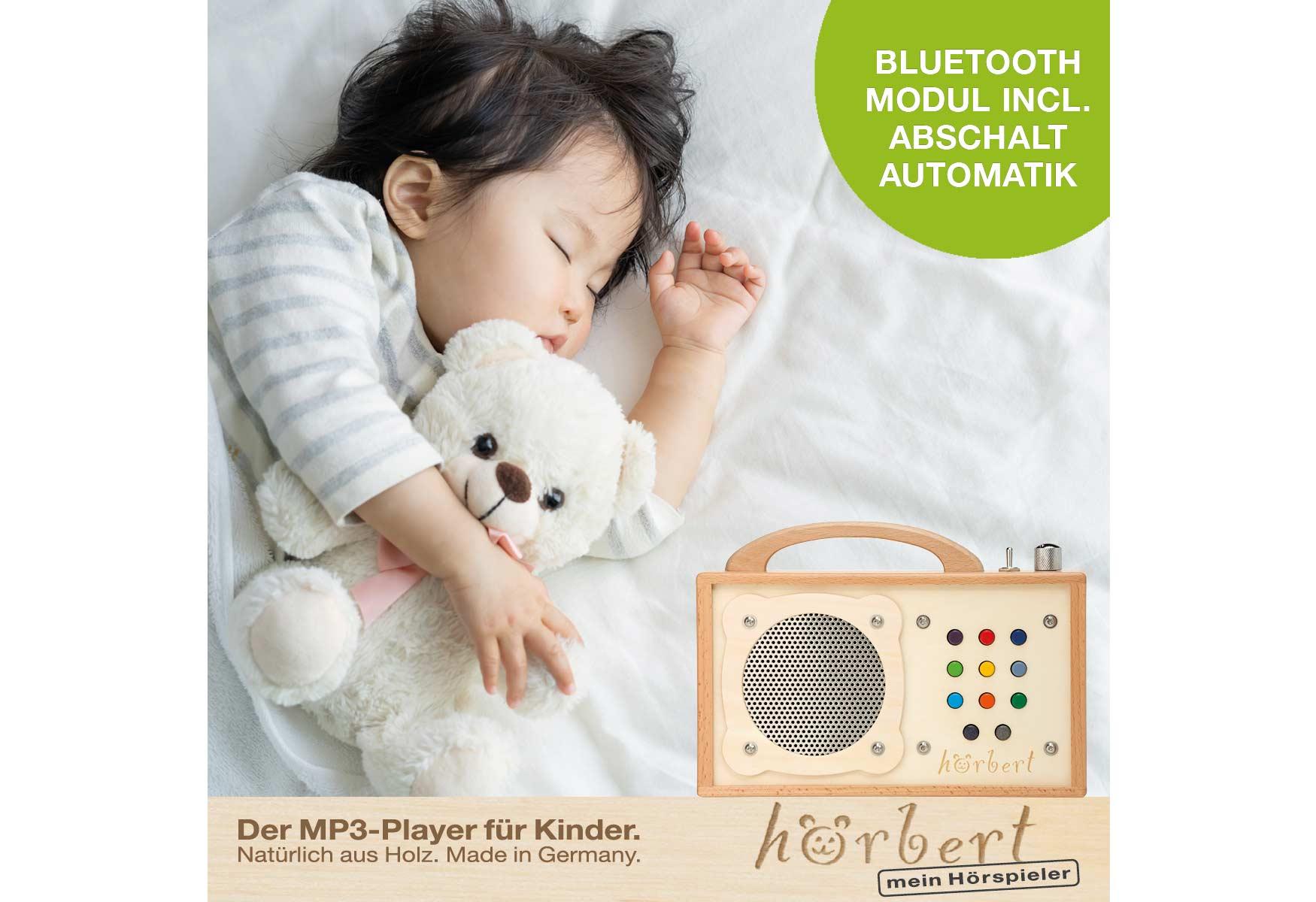 schlafendes Kind, Bluetooth hörbert